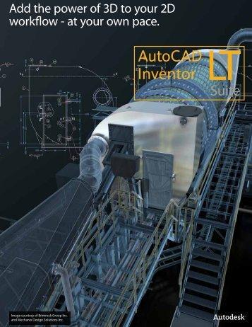 AutoCAD Inventor LT Suite 2013 Brochure - Autodesk