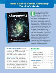 Delta Science Reader Astronomy Teacher's Guide - Delta Education