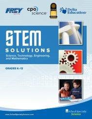Download Our STEM Brochure See planning ... - Delta Education