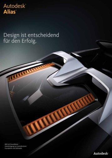 Autodesk® Alias® Design ist entscheidend für ...  - PREVOMA GmbH