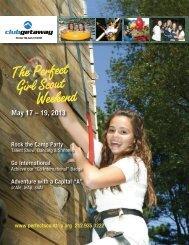 girl scouts brochure - Club Getaway