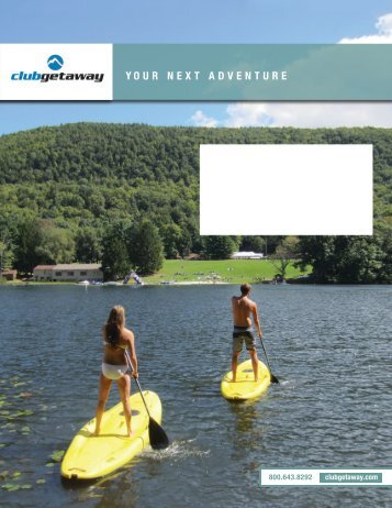 Download Brochure - Club Getaway