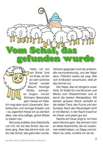 Vom Schaf, das gefunden wurde