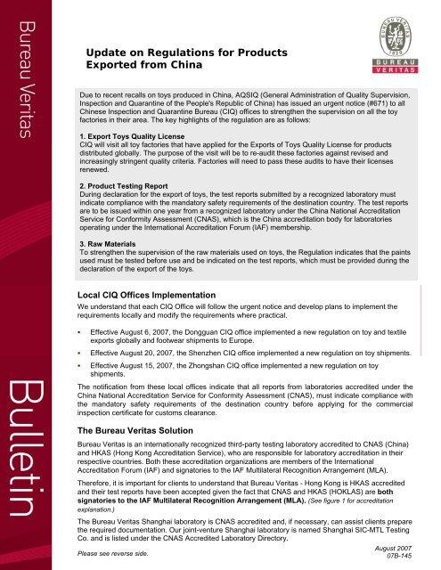 Download PDF File for Full Text of Bulletin - Bureau Veritas