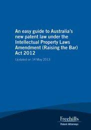 (Raising the Bar) Act 2012