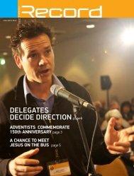 Delegates decide direction