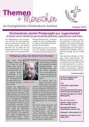 Themen - Evangelischer Kirchenkreis Aachen