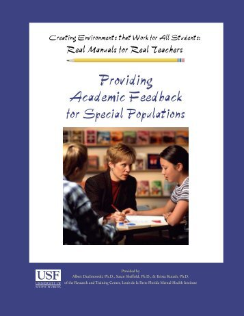 Download this document [368kb PDF] - Child & Family Studies