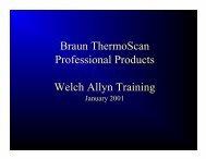Braun ThermoScan - Welch Allyn