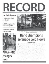 Download the Record as a PDF - Directory