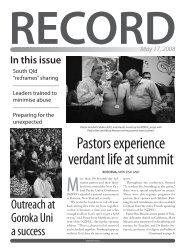 Pastor Kendall Cobbin - adventistconnect.org