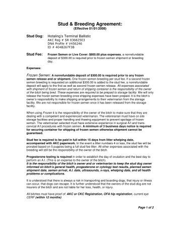 Purchase agreement template real estatereal estate for Dog breeding contract template