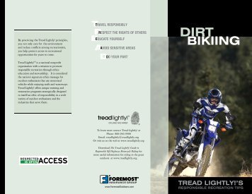BIKIING - Tread Lightly