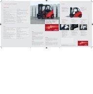 Standard and optional equipment Diesel and LPG Forklift Trucks ...