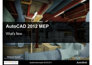 AutoCAD 2012 MEP - Mensch und Maschine