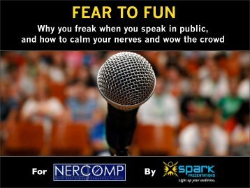 1. Fear to Fun - Andy Saks - Spark Presentations - NERCOMP