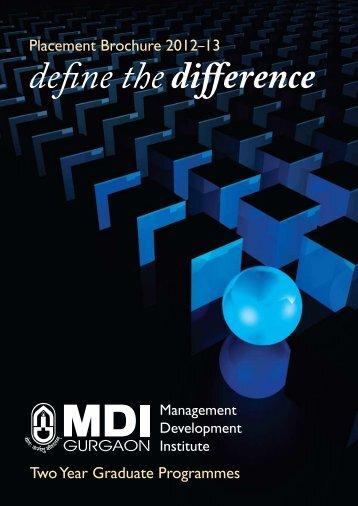 Past Recruiters - Management Development Institute