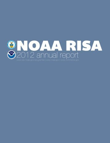 2012 annual report - Climate Program Office - NOAA