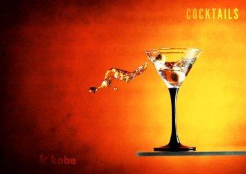 Cocktail Menu - Arc Inspirations