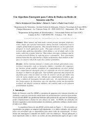 Um Algoritmo Emergente para Coleta de Dados em ... - SBRC 2010
