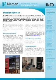 Passief Bouwen - Nieman Raadgevende Ingenieurs