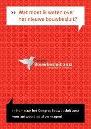 flyer Congres Bouwbesluit 2012