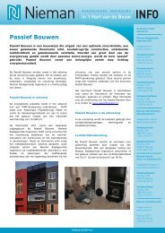 leaflet Passief Bouwen - Nieman Raadgevende Ingenieurs