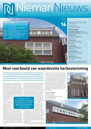 Nieman Nieuws internet Krant nr 16, september 2012