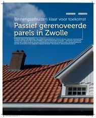 Passief gerenoveerde parels in Zwolle - Nieman Raadgevende ...