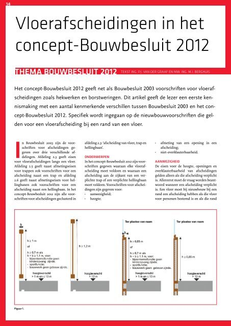 Hoogte Toiletpot Bouwbesluit.Vloerafscheidingen In Het Concept Bouwbesluit 2012