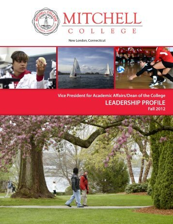 LEADERSHIP PROFILE - Mitchell College