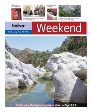 Wednesday, June 20, 2012 - Oman Daily Observer
