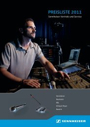 Mikrofone und Zubehör - Klein + Hummel