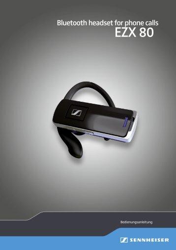 EZX 80 - Sennheiser