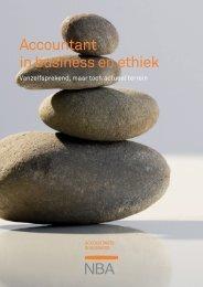 Accountant in business en ethiek - NBA