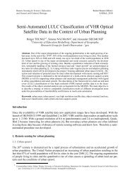 Remote Sensing and Image Understanding as ... - Conferences