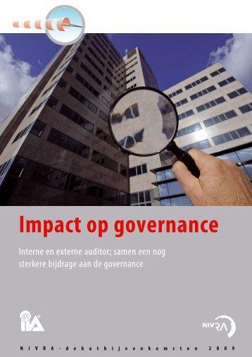 Impact op governance - NBA
