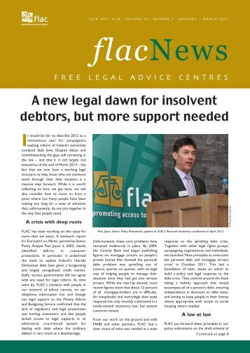 Publication in pdf format - FLAC (Free Legal Advice Centres)