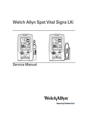 Welchallyn propaq lt vital signs monitor service manual download.
