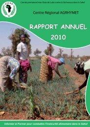 Téléchargez le rapport (résolution moyenne - PDF - 2,5 Mo) - CILSS