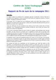 Ce rapport analyse la situation de la campagne agricole et pastorale