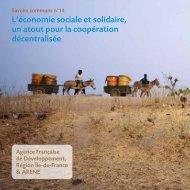 L'économie sociale et solidaire, un atout pour la coopération ... - Arene
