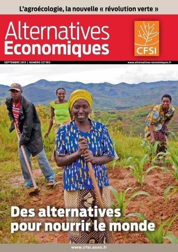 Télécharger le n°327bis d'Alternatives économiques [2.07Mo ... - Cfsi