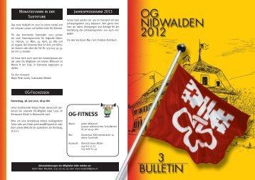 Bulletin 03 / 12
