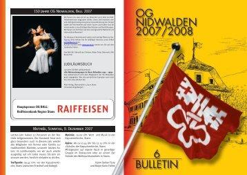 Bulletin 05 / 07 - Offiziersgesellschaft Nidwalden