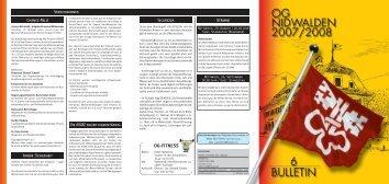 Bulletin 04 / 07 - Offiziersgesellschaft Nidwalden