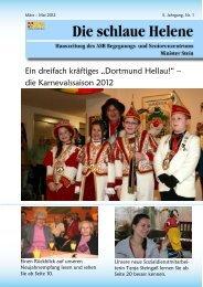"""Ein dreifach kräftiges """"Dortmund Hellau!"""" – die Karnevalssaison 2012"""