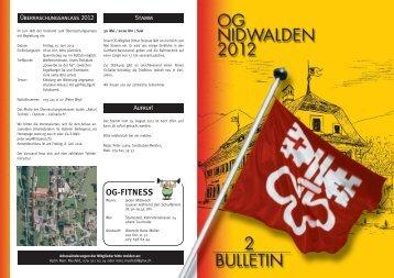 Bulletin 02 / 12