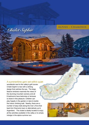 Chalet Saphir Alpine - Chamonix