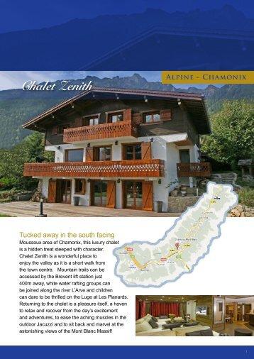 Chalet Zenith Alpine - Chamonix